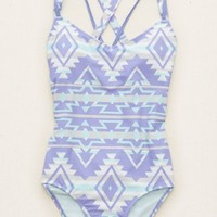 Aerie Women's One-piece Swimsuit (Lavender)