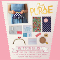 Make a Clasp Purse Kit - The Makery