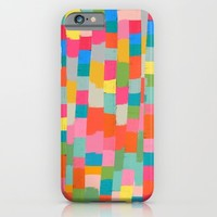colorful patchwork 2 iPhone & iPod Case by Her Art