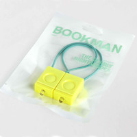 Bookman x DNS Bicycle Light Set Velo Yellow
