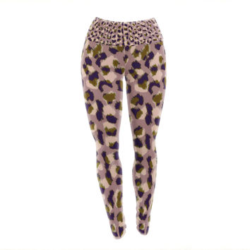 "Vasare Nar ""Leo Cheetah"" Animal Pattern Yoga Leggings"