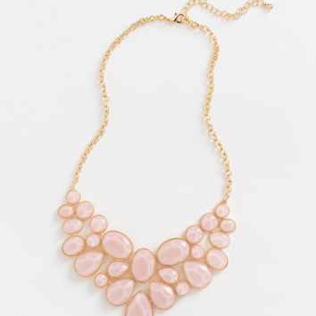 Beatrice Pink Statement Necklace