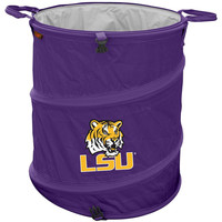 LSU Tigers NCAA Collapsible Trash Can