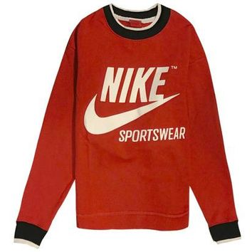 Trendsetter  Nike  Women  Fashion Cotton  Long Sleeve Top Sweater