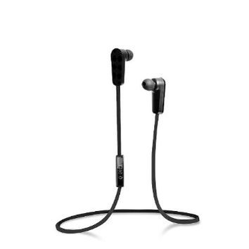 Jarv NMotion Sport Wireless Earbuds. Sweatproof and Water Resistant In-Ear Bluetooth Running Headphones with Premium HD Sound (Blk) Updated Version