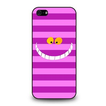 CHESHIRE CAT ALICE IN WONDERLAND Disney iPhone 5 / 5S / SE Case Cover
