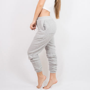 Ball of Fuzz Joggers Grey | Disruptive Youth