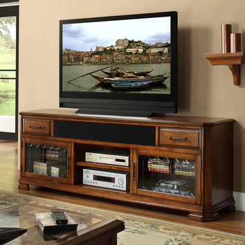 Tuscana 76 Inch Entertainment Cabinet TV Stand Toffee