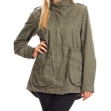 Make Your Move Jacket | Olive