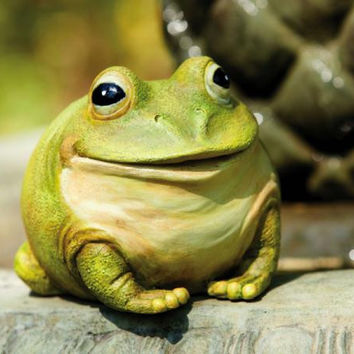 Frog Statue - For Outdoor Use