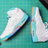 Air Jordan 5 women sports shoes