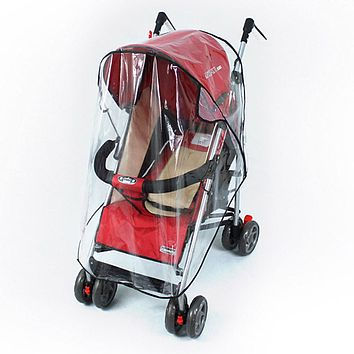 Waterproof Raincover for Stroller Prams Cart Dust Rain Cover Raincoat for Stroller Pushchairs Accessories Baby Carriages