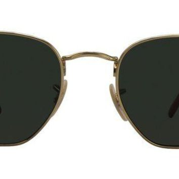 LMF8UH Ray Ban - RB2448NM Gold - Green