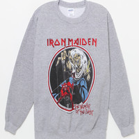 Iron Maiden Crew Neck Sweatshirt at PacSun.com