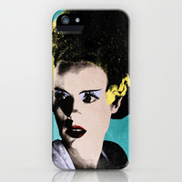 The Beautiful Bride of Frankenstein iPhone & iPod Case by Sbs' Things