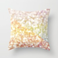 Embrace Me Throw Pillow by Lisa Argyropoulos | Society6