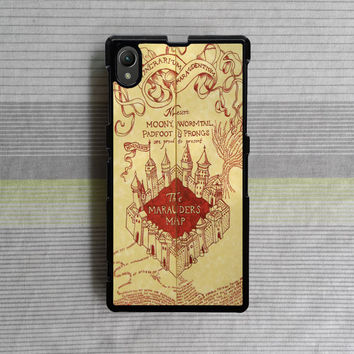 Sony Xperia Z case , Sony Xperia Z1 case , Sony Xperia Z2 case , Harry Potter Maps