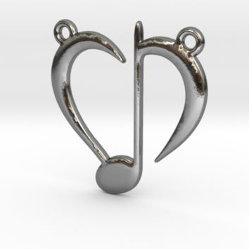 Love Music by Jilub on Shapeways