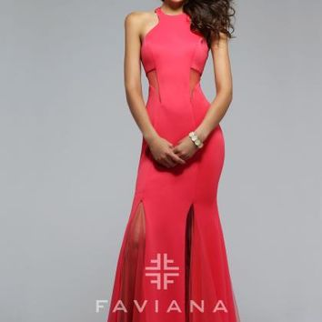 Sexy Fit and Flare Faviana Dress 7748