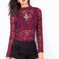 Mystical+Lace+Top