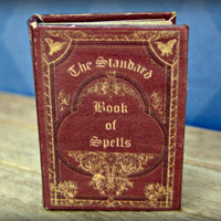 The Standard Book of Spells from Harry Potter in dollhouse miniature by LittleWooStudio