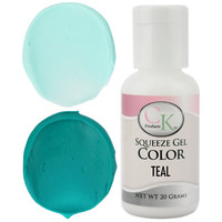 Teal CK Gel Paste Food Coloring