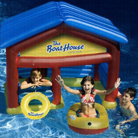 Inflatable Boat House - Super Sized Floating House
