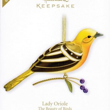 Hallmark Keepsake Ornament 2011 Special Edition LADY ORIOLE