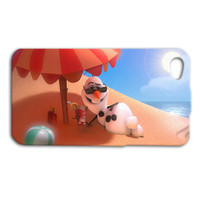 Disney Phone Case Frozen iPhone Case Cute Olaf iPod Case Funny iPhone Cover iPhone 4 iPhone 5 iPhone 4s iPhone 5s iPhone 5c iPod 4 iPod 5
