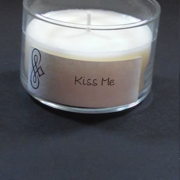 Kiss Me 4oz Scented Candle by Sweet Amenity Fragrances