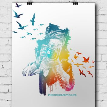 Photographer Poster Photography Is Life - POSTER040