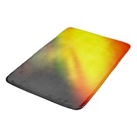 Splashing Colors Positive Vibrations Bathroom Mat