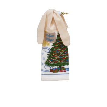 Christmas Towel, Christmas Decor, Kitchen Towel, Hand Towel. Holiday Decor, Tea Towel, Hand Towel, Dish Towel, Tie on Towel, Hanging Towel