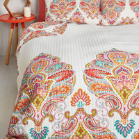 Boho Sprightly Sights Quilt Set in Full, Queen by ModCloth