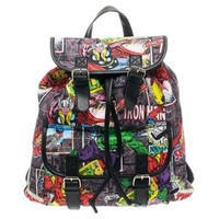 Avengers Comic Collage Backpack
