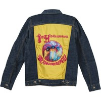 Jimi Hendrix Men's  Authentic Denim Jacket Denim