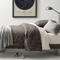 Night Sky & Vintage-Washed Percale Bedding Collection
