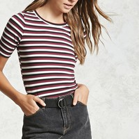 Contemporary Striped Tee