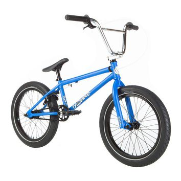 FIT 2019 EIGHTEEN MATTE BLUE COMPLETE BMX BIKE