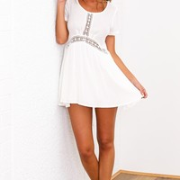 HelloMolly | Sun Dancer Dress White