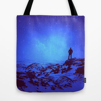 Lost the Moon While Counting Stars III Tote Bag by Soaring Anchor Designs