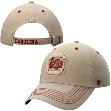 South Carolina Gamecocks '47 Brand Gibbs Clean Up Adjustable Hat – Stone