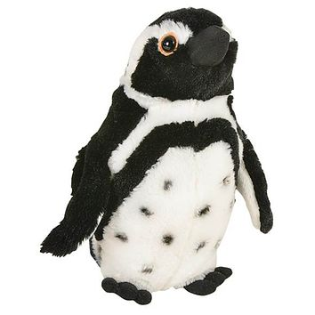 10 Inch Black-Footed Penguin Stuffed Animal Plush Floppy Ocean Species Collection