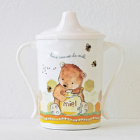 Baby Cie Sweet as Honey Textured Sippy Cup for Baby or Toddlers