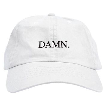 Alternate Kendrick Lamar DAMN Dad Hat