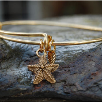 Sailboat Expandable Bangle bracelet, Ocean creature Bracelet, Sterling Silver Bangle, Beach jewelry, gold stacking bangle, adjustable bangle