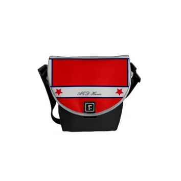 RICKSHAW BAG RED WHITE BLACK ACD Havic