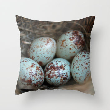 The Hope of Spring Throw Pillow by Rebekah Joan