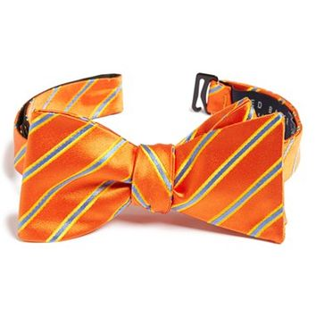 Men's Ted Baker London 'Candy Stripes' Silk Bow Tie