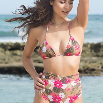 ACACIA Swimwear 2018 Queens Bottom in Lei Day